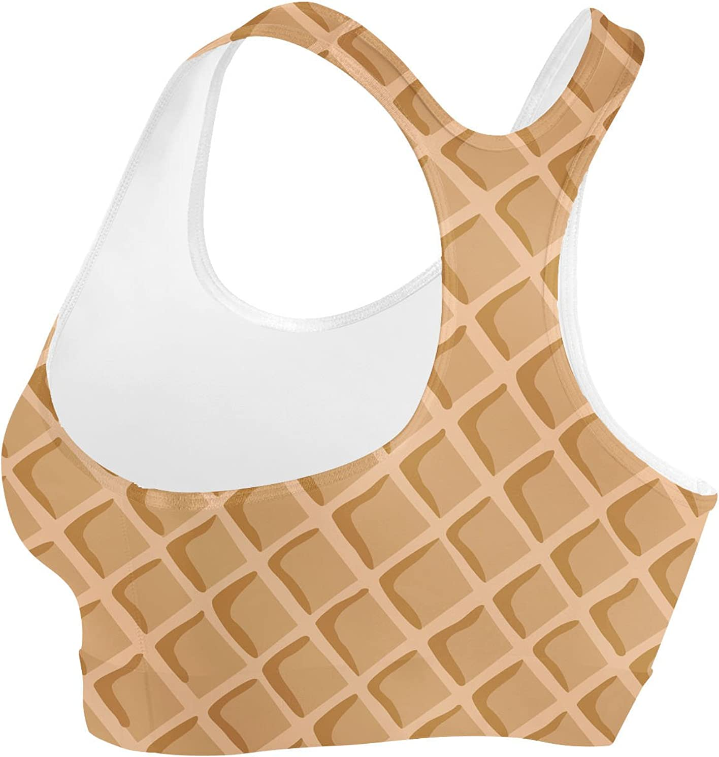XS Icecream Waffle Cone Sports Bra