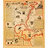 Treasure Map Poster 23 X 29