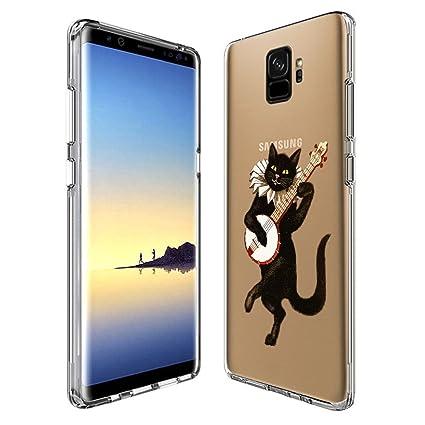 Amazon.com: Carcasa de TPU suave para Samsung Galaxy S9 ...
