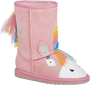 EMU Australia Kids Magical Unicorn Deluxe Wool EMU Boots