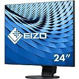 Eizo EV2456-BK 61,2 cm (24,1 Zoll) Ultra-Slim Monitor (DVI-D, HDMI, USB 3.0, 5ms Reaktionszeit) schwarz