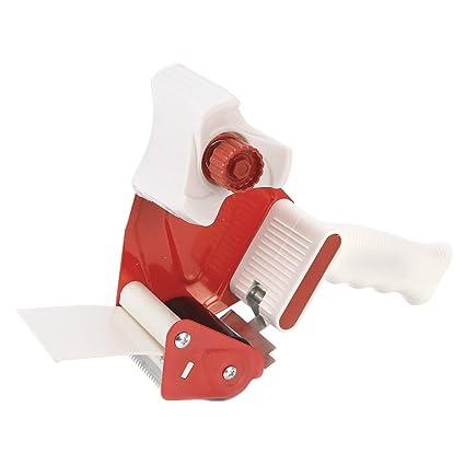 Precintador Dispensador para Cinta Adhesiva de Embalar con Mango Ergonómico Pistola Encintadora