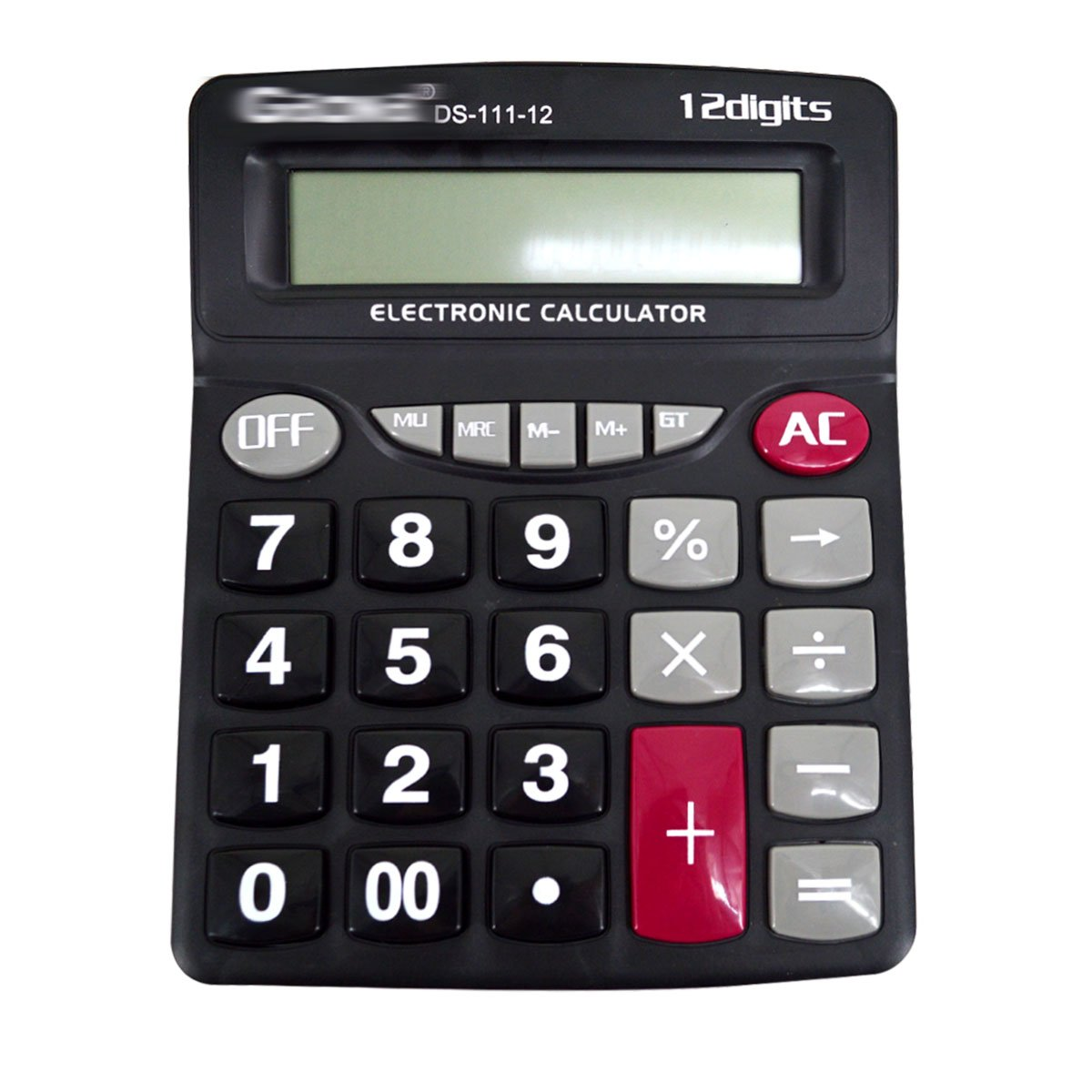 Felice Basic Calculator Large Computer Keys 12 Digits Display Office Financial Desktop Calculators (black)