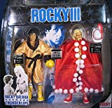 ROCKY VS THUNDERLIPS (HULK HOGAN) LIMITED EDITION RINGSIDE COLLECTIBLES EXCLUSIVE 2-PACK ACTION FIGURES