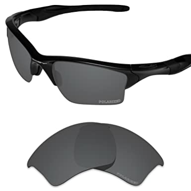 3bd2713c67 Tintart Performance Lenses Compatible with Oakley Half Jacket 2.0 XL  Polarized Etched-Carbon Black