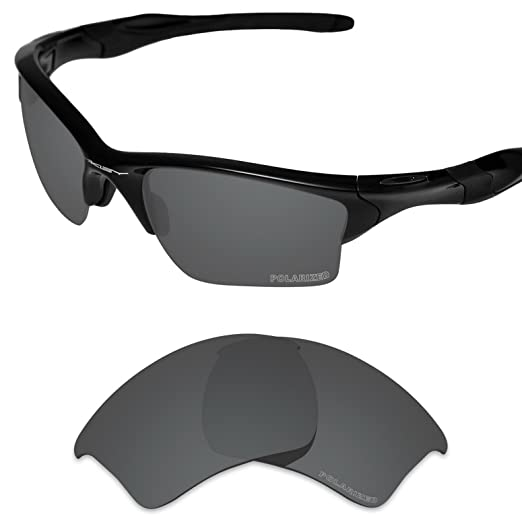 6fca498666 Tintart Performance Lenses Compatible with Oakley Half Jacket 2.0 XL  Polarized Etched-Carbon Black