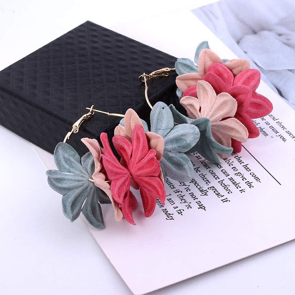 cr/éoles avec fleurs Longyitrade Boucles doreilles pendantes pour femme