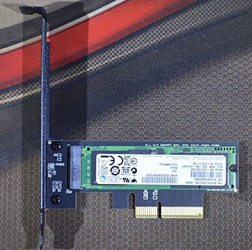 Up to 3300M//s PCI-E 4X for M.2 SSD ADAPTER SM961 SM951 950Pro Cooling version