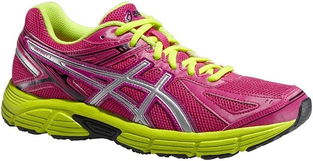 AsicsPatriot 7 - Zapatillas de Running de competición Mujer, Color Rosa, Talla 37 EU: Amazon.es: Zapatos y complementos