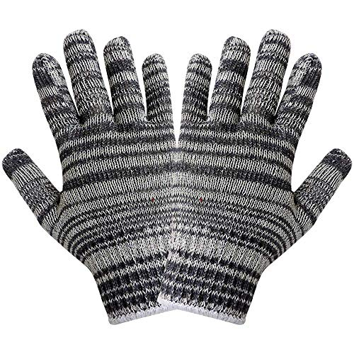 Global Glove S92K Heavyweight String Knit Glove, Work, Large (Case of 300) ()