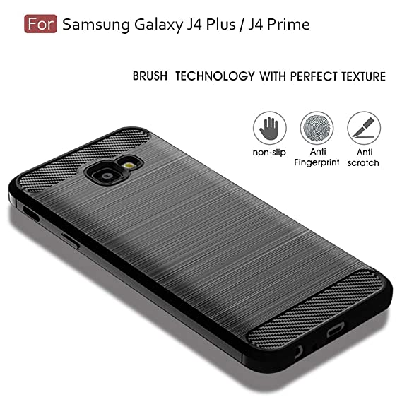 Samsung Galaxy J4 Plus Case,Samsung Galaxy J4 Prime/J4 Core/J4+ Case,Sucnakp TPU Shock Absorption Technology Raised Bezels Protective Case Cover for ...