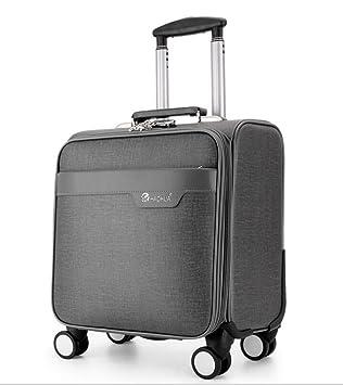 Maletas para Cabina Piloto Laptop con Ruedas Business Trolley Maletin Informático Carry On Roller Cases,Gray: Amazon.es: Deportes y aire libre