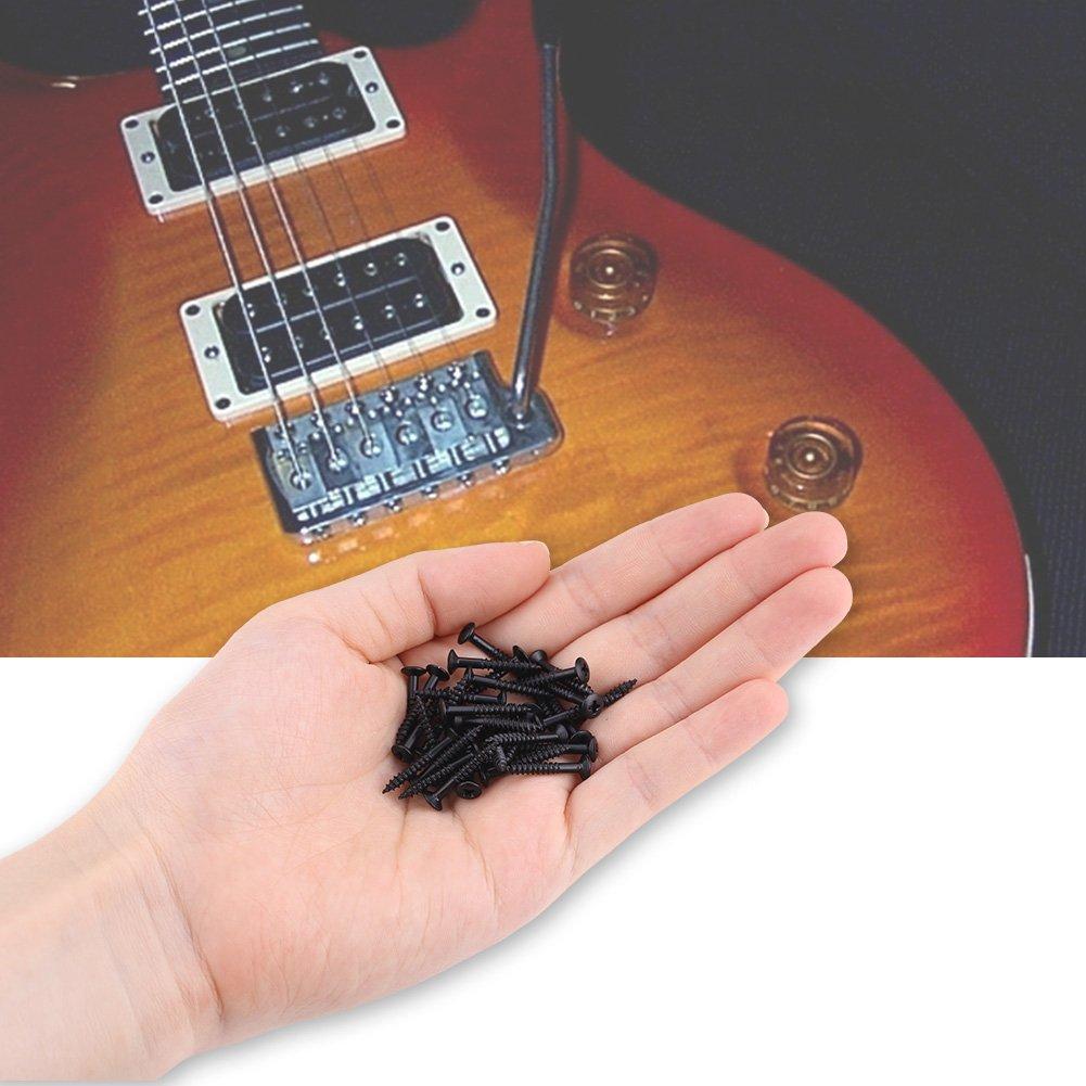 Guitar Humbucker Pickup Screws Set Kit Ring Mounting Screws Dilwe ...