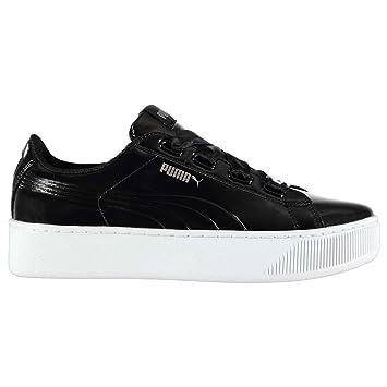 Officiel Pour Ruban Sports Chaussures Femme Puma Blk Baskets Vikky lFcK3TJ1