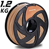 3D Printer - 3D MARS Wood-Infused PLA 1.75mm ,3D Printing Filament,3D Printer Filament 1.75mm PLA,Dimensional Accuracy +/- 0.05mm,1.2kg Spool,1.75 mm PLA 3D Filament for Most 3D Printer & 3D Printing Pen
