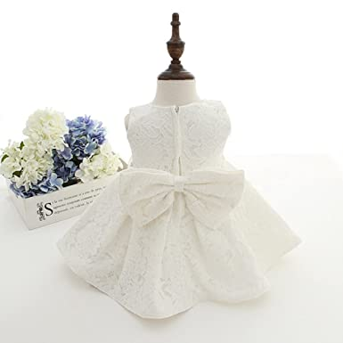 82640467d2f9 Meiqiduo Baby Girls 3Pcs Set Christening Baptism Wedding Formal ...