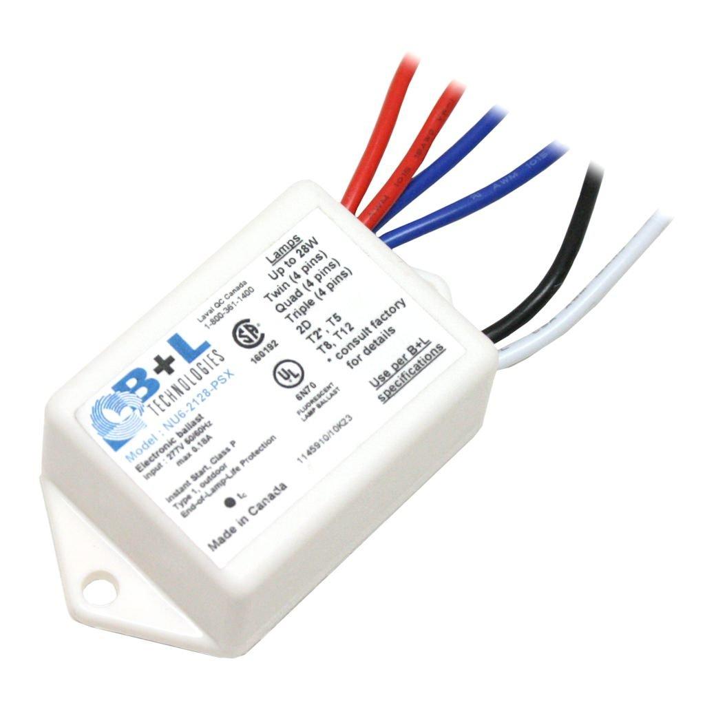 Bl Technologies 50638 Nu6 2128 Psx 277v Compact 14 Watt Fluorescent Electronic Ballast Home Improvement