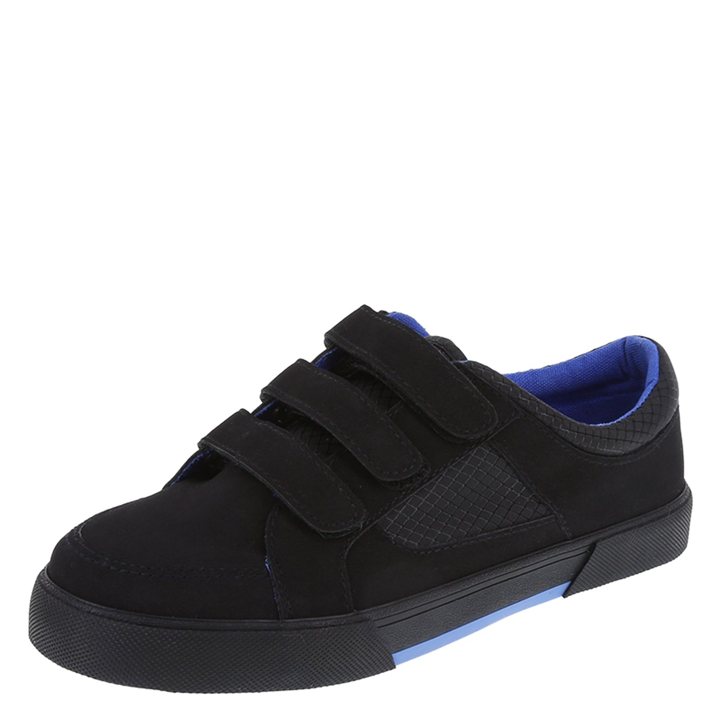 SmartFit Boys' Black Boys' Triple-Strap Casual 2.5 Regular