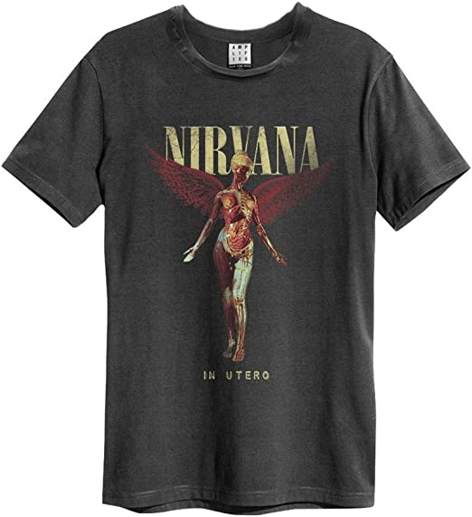 t shirt nirvana homme