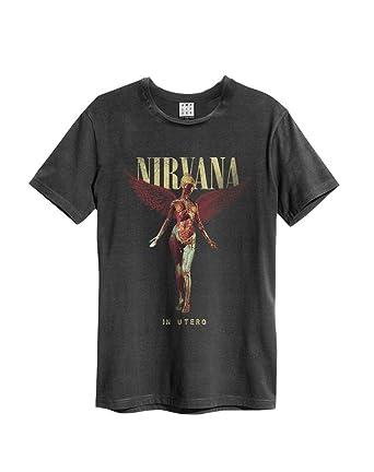 Amplified Herren Oberteile/T-Shirt Nirvana in Utero: Amazon.de: Bekleidung