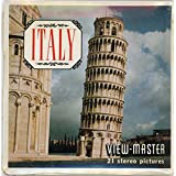 Classic ViewMaster - Italy - 3Reel Packet - 21 3D Images from late 1950's