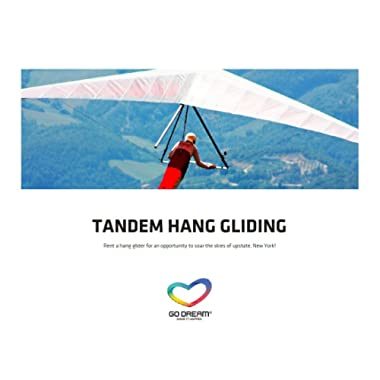 Tandem Hang Gliding Experience Gift Card New York Area - GO DREAM - Sent in a Gift Package