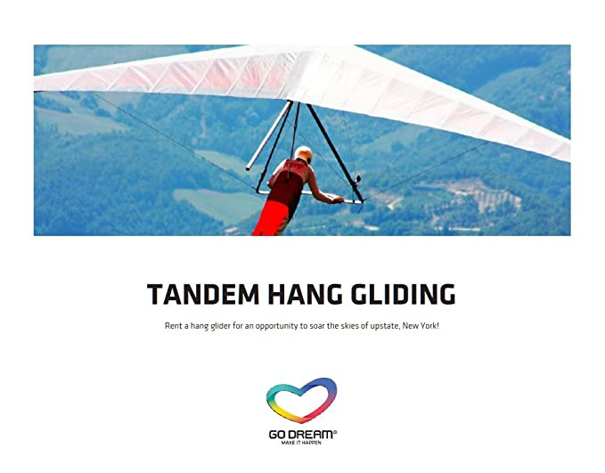 Image Unavailable. Image not available for. Color: Tandem Hang Gliding Experience Gift ...