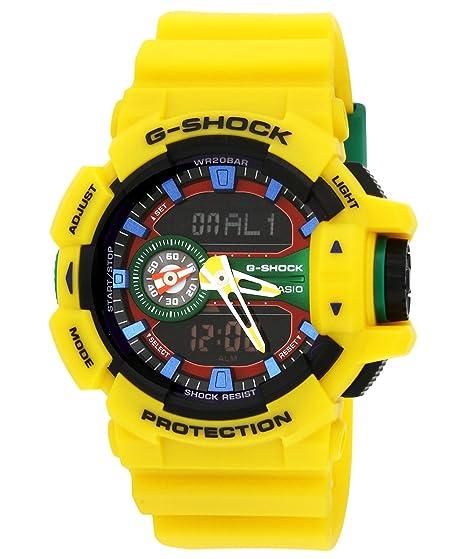Casio Hombre G Shock Redondo Serie Analog de Digital Deporte Quartz Reloj (Modelo de Asia) GA de 400 - 9 A: Casio: Amazon.es: Relojes