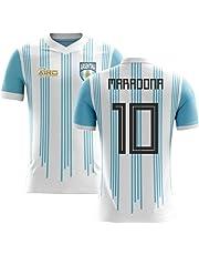 f0fb7c17edc Airosportswear 2018-2019 Argentina Home Concept Football Soccer T-Shirt  Jersey (Diego Maradona