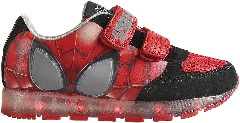 Spiderman Marvel Zapatillas con Luz Led Desconectables Color ...