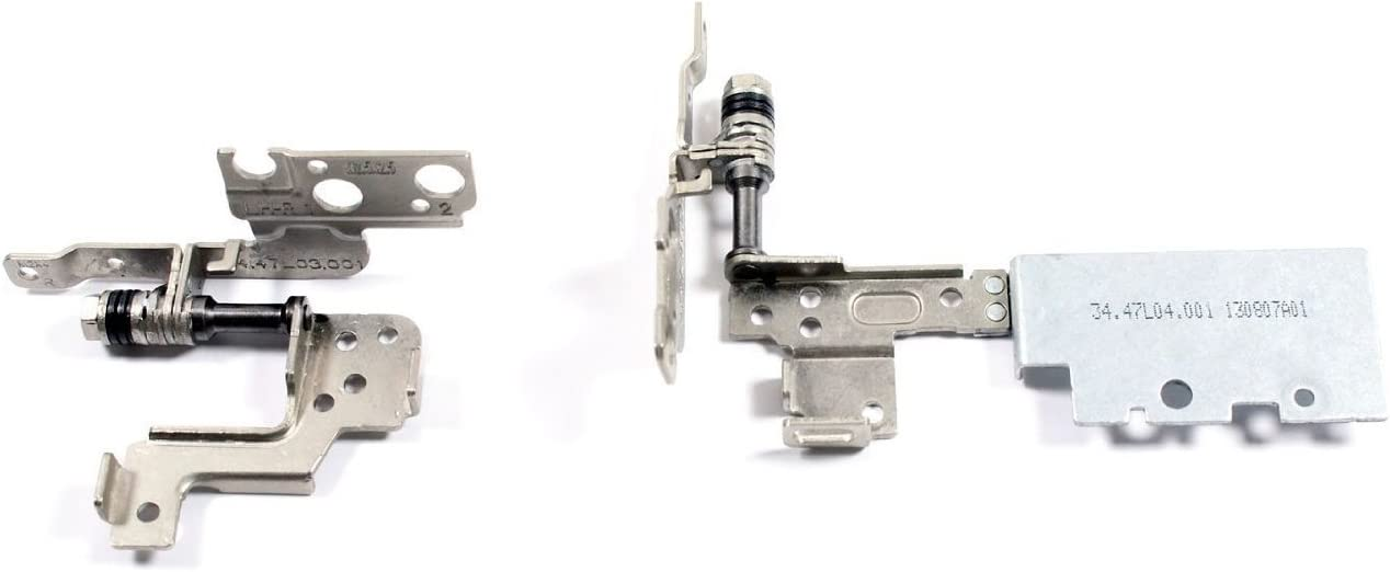 Replacement LCD Screen Hinge Hinges Set for Dell Inspiron 15 7000 7537 Series Laptop Repair Parts (Not for Touch Screen Laptop)