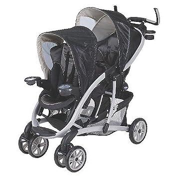 Amazon.com: Graco Quattro Tour Duo Flint carriola de bebé ...