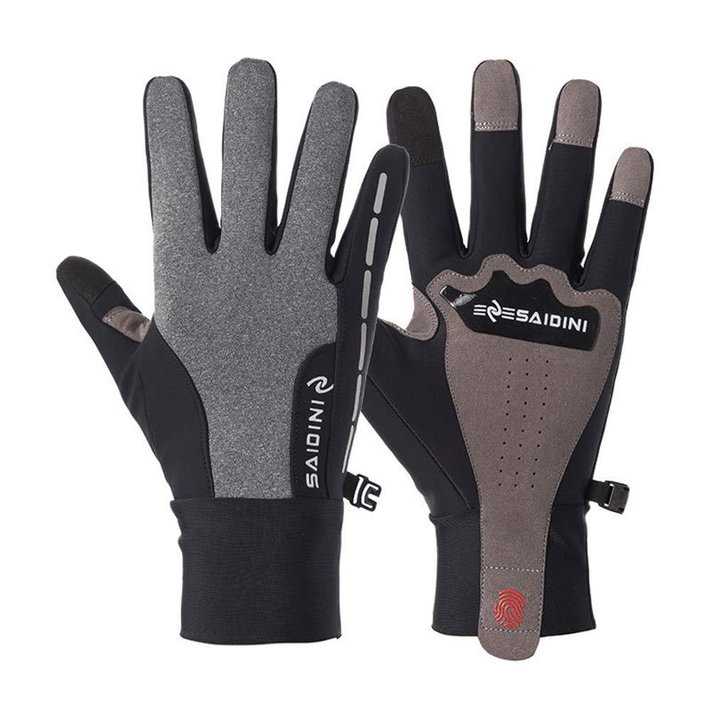 LLUVIAXHAN Winter-Handschuhe Touchscreen Handschuhe Fahrradhandschuhe warme Handschuhe verdicken f/ür Klettern Ski Fahren Reiten Radfahren Laufen M/änner Frauen,Schwarz,S