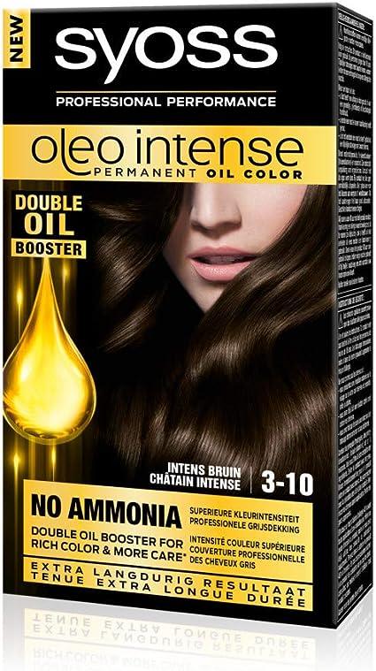 Syoss Color Oleo Intense 3-10 - Tinte de coloración para el ...