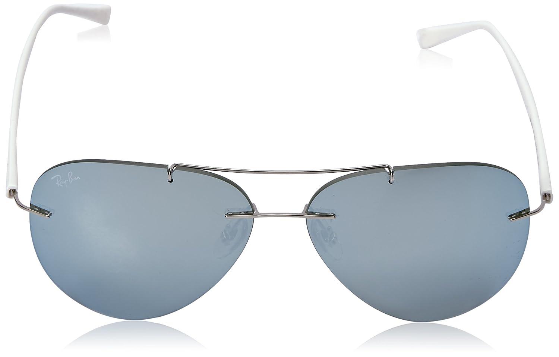 399ae88898 Amazon.com  Ray-Ban Men s Titanium Man Sunglass Aviator