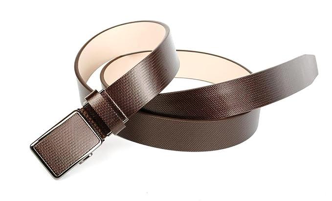 6e9261b7be3b Anthoni Crown, ceinture homme 3,5cm largeur, matrix gris brun  Amazon.fr   Vêtements et accessoires