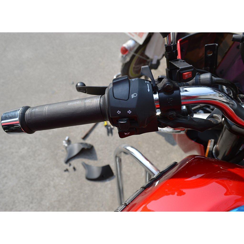 perfk 2 St/ücke Beheizbare Lenkergriffe ATV Lenkergriffe f/ür 12V Motorr/äder Elektromobil Roller