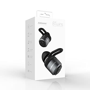 Jabees BTwins - Auriculares estéreo con Bluetooth, compatibles con iPhone 7 Plus,