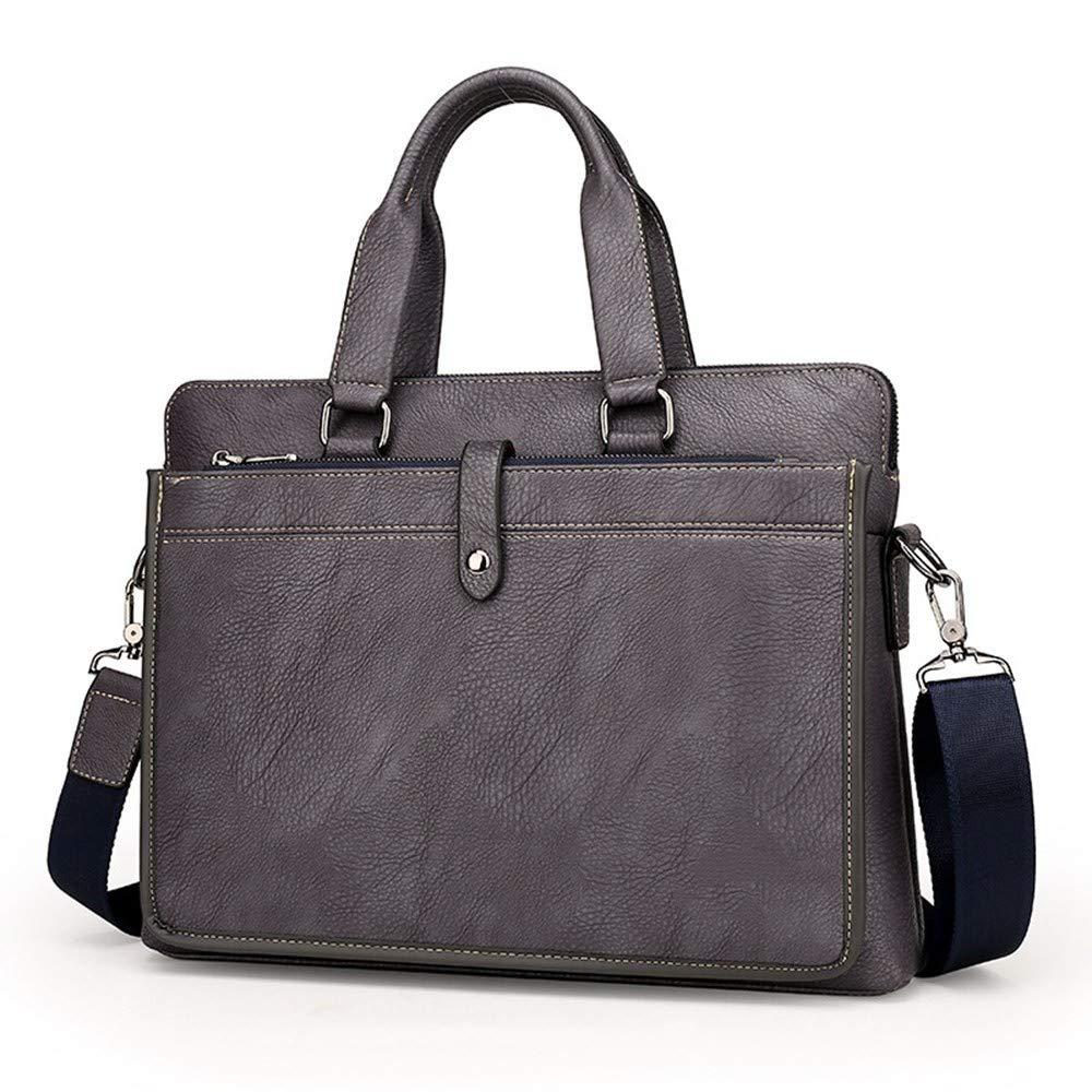 Lianaic Laptoptasche Computer Handtasche Aus Weichem Leder Mode Aktentasche Leder Laptop Tasche