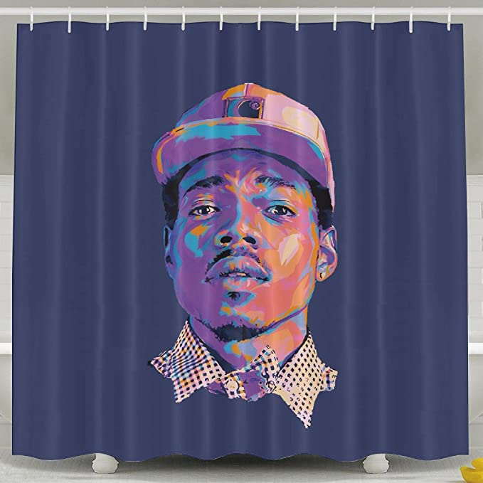Amazon Chance The Rapper Bathroom Shower Curtain 7272inch Sports Outdoors