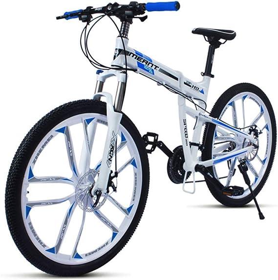 WJSW Bicicleta de montaña BlackDeluxe Bicycles Blue Cuadro de ...