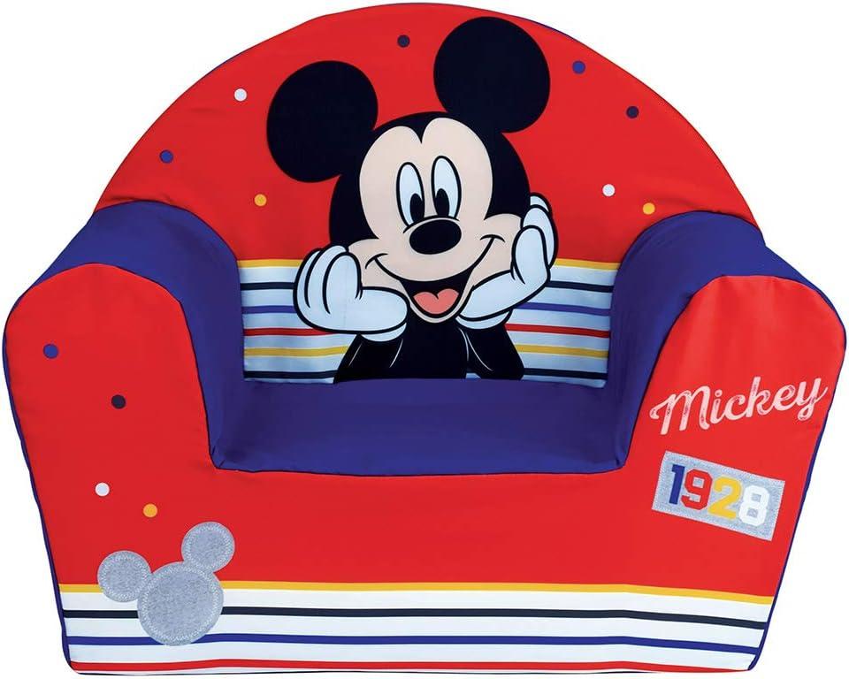 Fun House 713012 Disney Mickey - Sillón de Espuma para niños, a Partir de 18 Meses