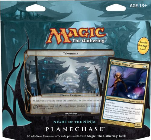 Planechase Deck - Magic the Gathering- MTG: Planechase (2012 Edition) Night of the Ninja - Game Pack