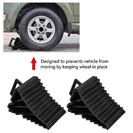 2pcs Auto Anti Rutsch Block Reifen Slip Stopper Achsvermessung Block Reifen Unterst/ützung Pad