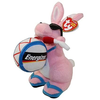 3d291867fbf Image Unavailable. Image not available for. Color  TY Beanie Baby - ENERGIZER  BUNNY the Bunny (Walgreen s Exclusive)