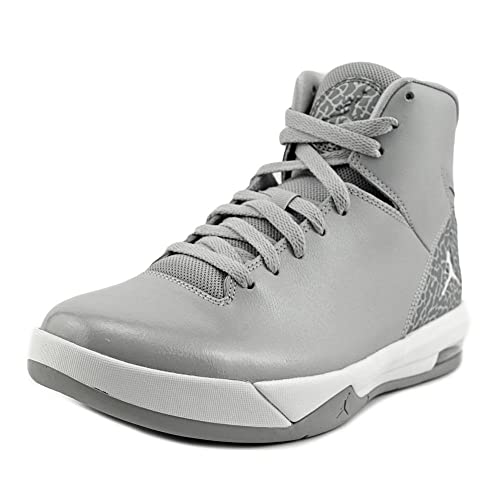 brand new a583f 59e4b Men s Jordan Air Imminent Off Court Shoes 705077 011 Wolf Grey White (10 M