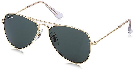 Ray-Ban Junior 0RJ9506S - Gafas de sol Unisex Niño, Gold 50