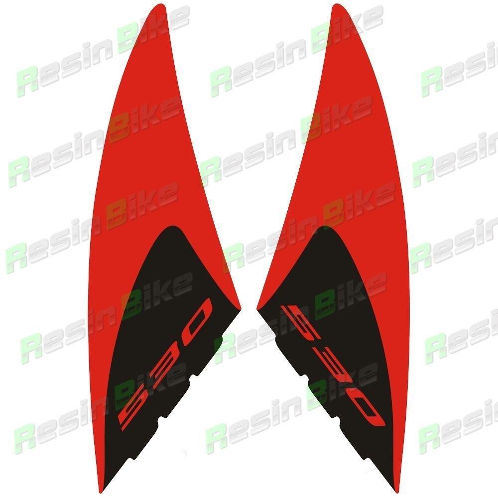 Kit 2 ADESIVI in RESINA TMAX 530 Stickers 3D PROTEZIONE GRAFFI YAMAHA T max 2012