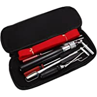 13 Pcs Piano Tuning Maintenance Tuning Tool Kit with Case Bag
