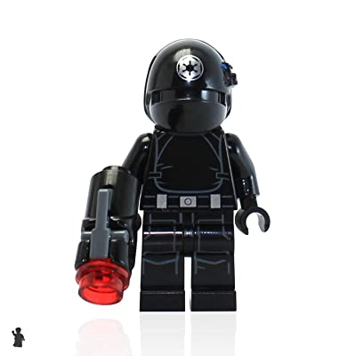 LEGO Star Wars MiniFigure - Imperial Gunner (with Blaster Gun) 75034: Toys & Games